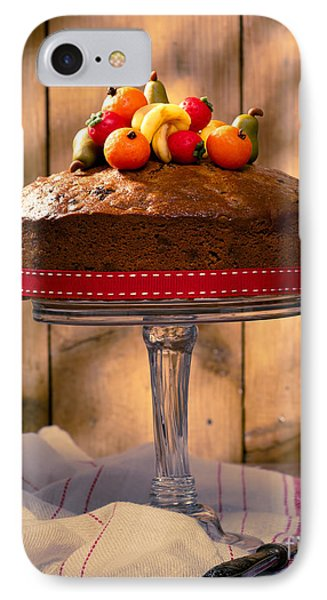 Vintage Style Fruit Cake IPhone Case