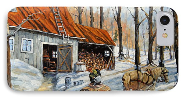 Vintage Sugar Shack By Prankearts IPhone Case by Richard T Pranke