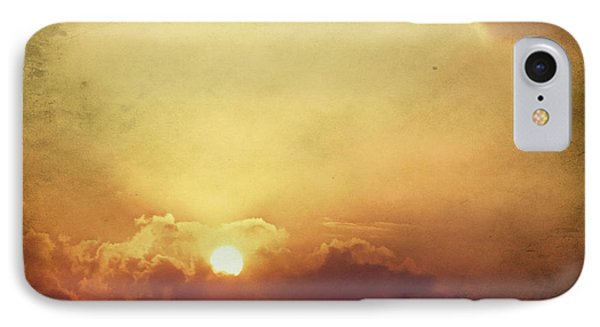 Vintage Sunset IPhone Case by Mohamed Elkhamisy