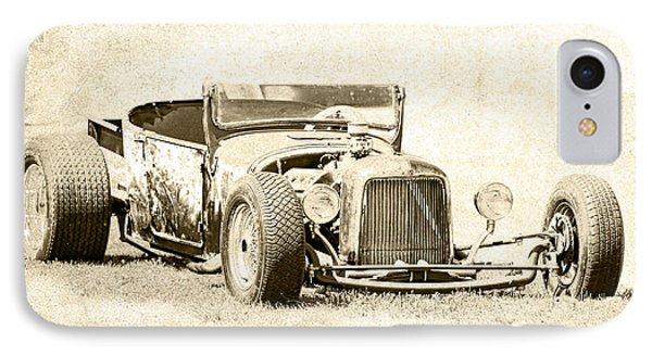 Vintage T Bucket Ford IPhone Case by Steve McKinzie