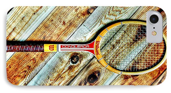 Vintage Tennis Phone Case by Benjamin Yeager