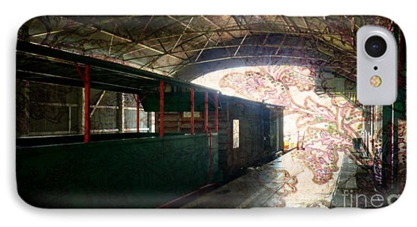 IPhone Case featuring the photograph Vintage Train Station by Therese Alcorn