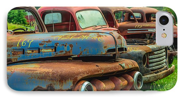 Vintage Trucks 2 IPhone Case
