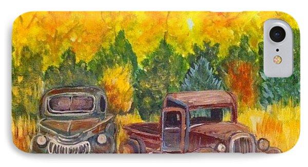 Vintage Trucks IPhone Case
