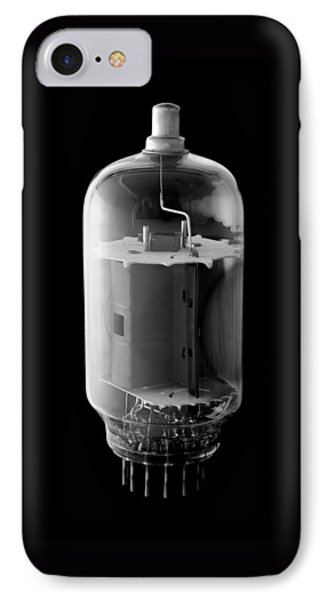 Vintage Vacuum Tube IPhone Case by Jim Hughes
