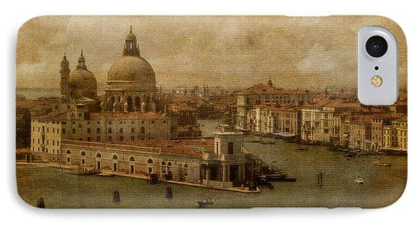 Vintage Venice Phone Case by Lois Bryan