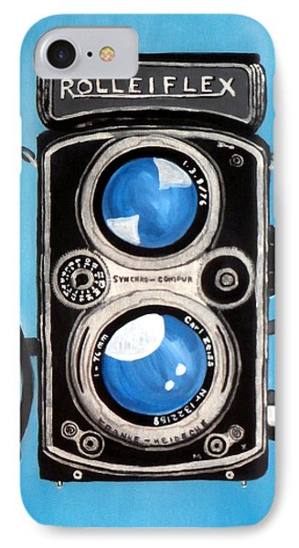 Vintage View Camera Phone Case by Karyn Robinson