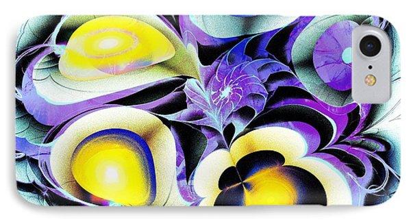 Viola Tricolor Phone Case by Anastasiya Malakhova