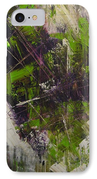 IPhone Case featuring the painting Violation by Lucy Matta