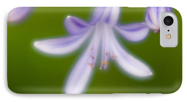 IPhone Case featuring the photograph Violet-1 by Tad Kanazaki