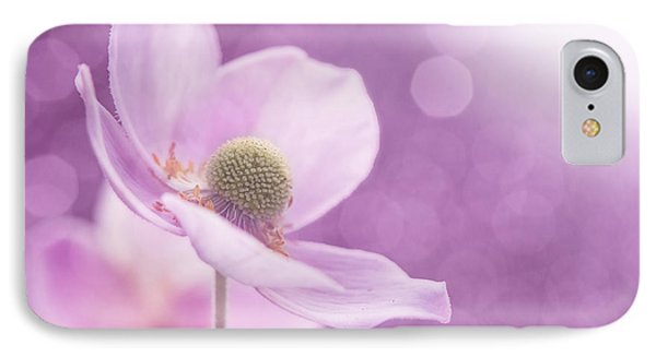 IPhone Case featuring the photograph Violet Breeze 4x3 by Lisa Knechtel