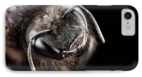 Violet Carpenter Bee IPhone Case by Us Geological Survey