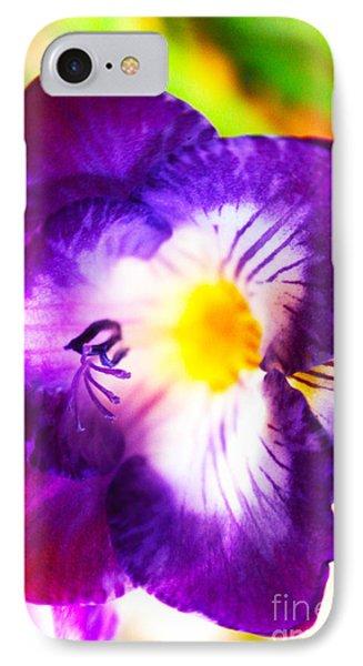 Violet Day Phone Case by Rebecca Christine Cardenas