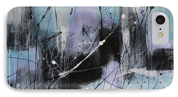 Violet Fields Phone Case by Lauren Petit