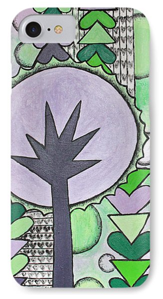 Violet-green Phone Case by Home Art