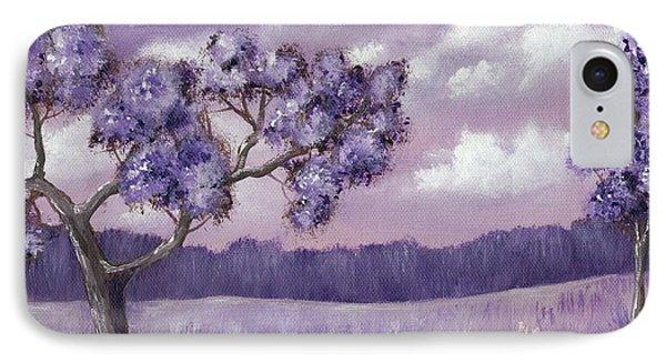 Violet Mood IPhone Case