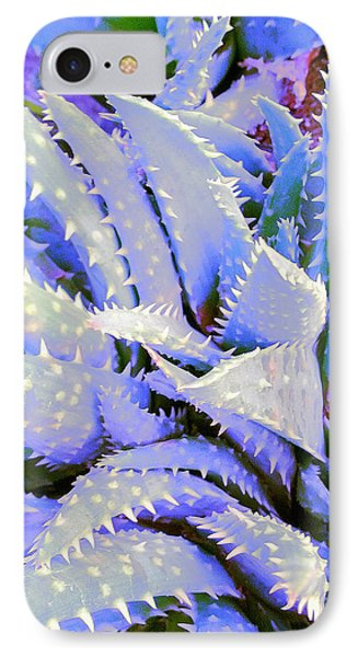 IPhone Case featuring the digital art Violet by Suzanne Silvir