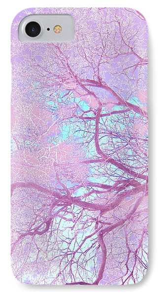 Violet Tree IPhone Case
