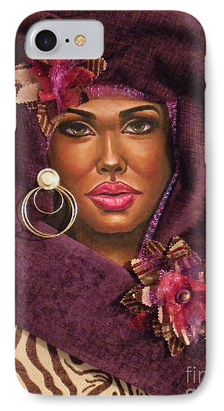 Violets IPhone Case by Alga Washington