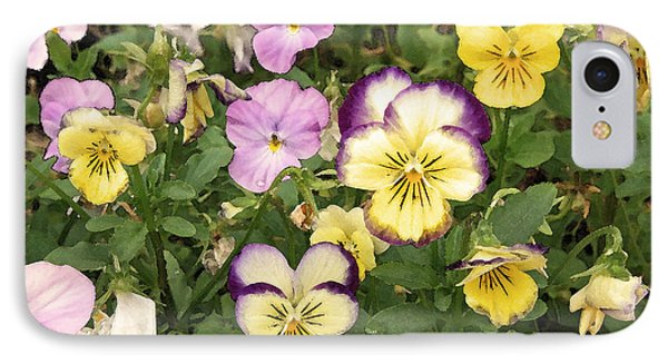 IPhone Case featuring the photograph Violets by Brooke T Ryan