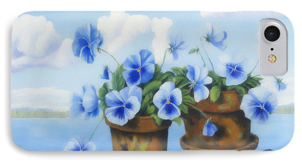 Violets On The Beach Phone Case by Veikko Suikkanen
