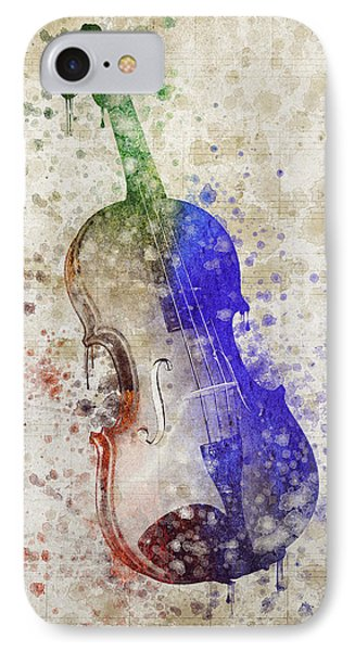 Violin IPhone Case by Aged Pixel