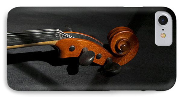 Violin In Shadow Phone Case by Mark McKinney