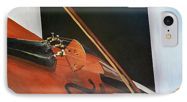 IPhone Case featuring the painting Violin by Jock McGregor