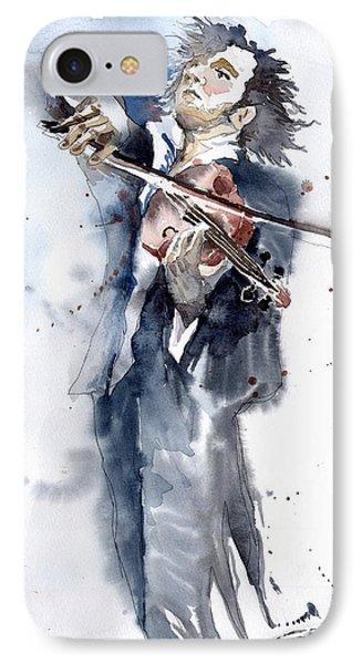 Violine Player 1 Phone Case by Yuriy  Shevchuk