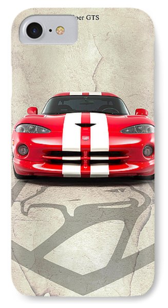 Viper Gts IPhone Case by Mark Rogan