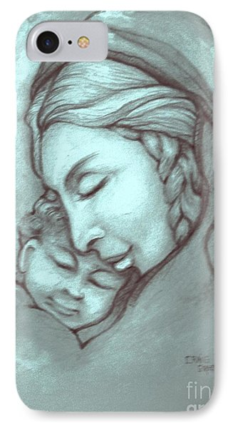 Virgin And Child Phone Case by Craig Green