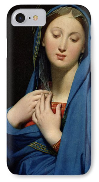 Virgin Of The Adoption Phone Case by Jean Auguste Dominique Ingres