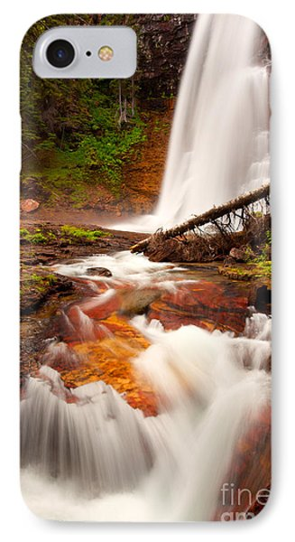 IPhone Case featuring the photograph Virginia Cascades by Aaron Whittemore