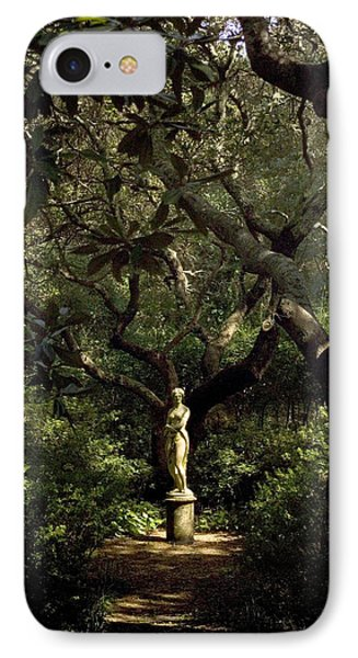 IPhone Case featuring the photograph Virginia Dare Statue by Greg Reed