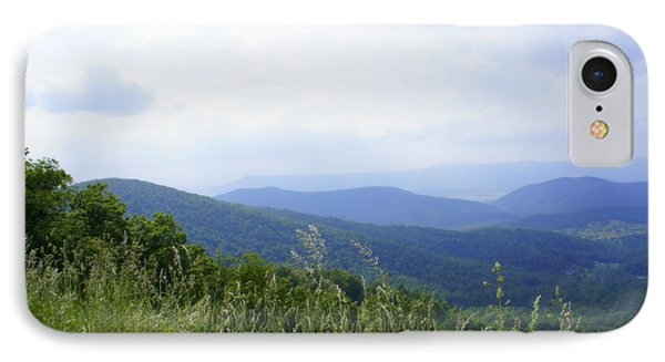IPhone Case featuring the photograph Virginia Mountains by Laurie Perry