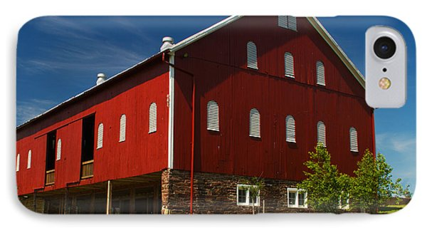 Virginia Red Barn IPhone Case