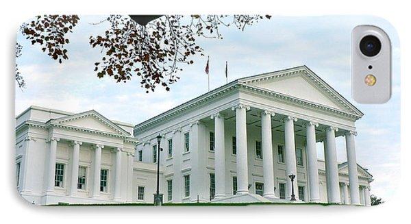 Virginia State Capitol In Autumn IPhone Case
