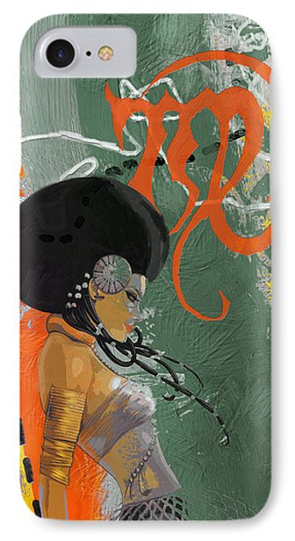 Virgo - B IPhone Case by Corporate Art Task Force