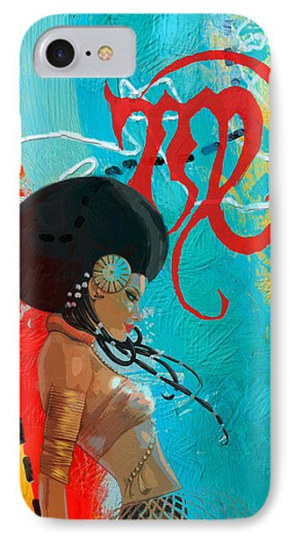 Virgo IPhone Case by Corporate Art Task Force