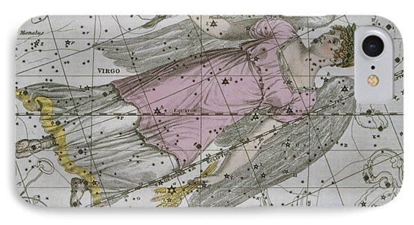 Virgo From A Celestial Atlas IPhone Case