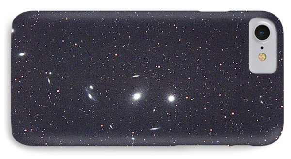 Virgo Galaxy Cluster IPhone Case by Chris Cook