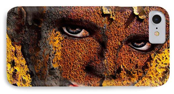 Virtual Face In Grafitti IPhone Case