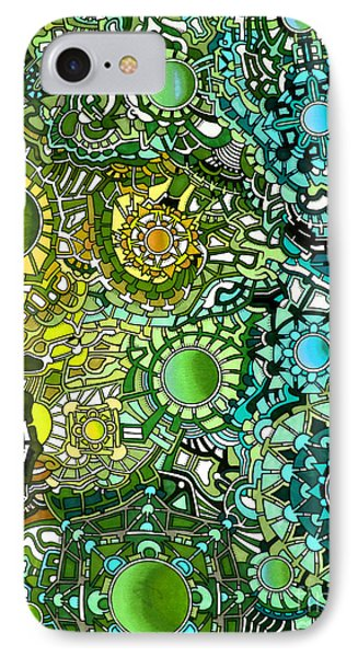 Viscosity Variation 18 IPhone Case by Devin  Cogger