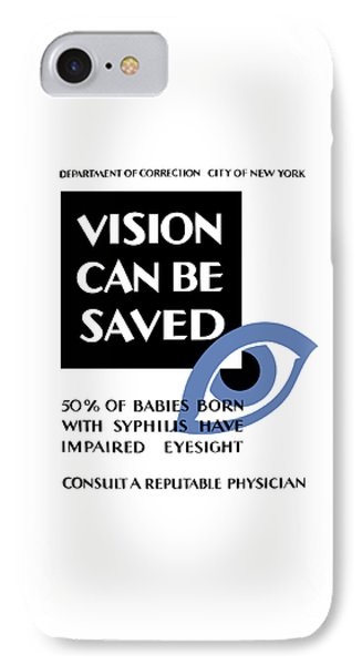 Vision Can Be Saved - Wpa Phone Case by War Is Hell Store