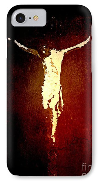 Vision Of Christ IPhone Case by J Jaiam