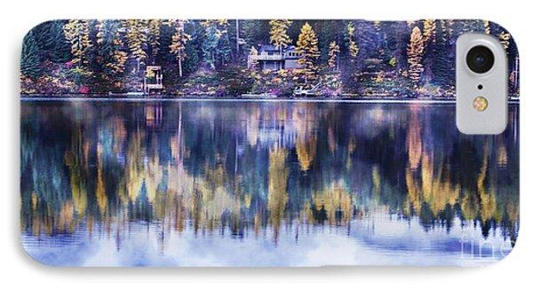 Visions- Lake Inez IPhone Case by Janie Johnson