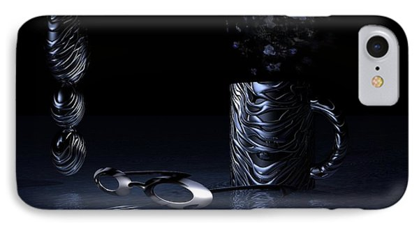 Visions Of Black IPhone Case