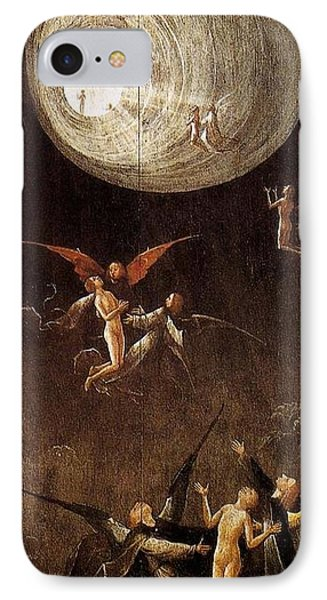 Visions Of The Hereafter - Ascent Of The Blessed IPhone Case by Hieronymus Bosch