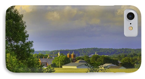Vista At Tildon Wisconsin IPhone Case by Larry Capra