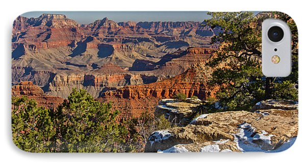 Vista, From Mather Point, South Rim IPhone Case by Michel Hersen